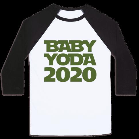 Baby Yoda 2020 Parody Baseball Tee