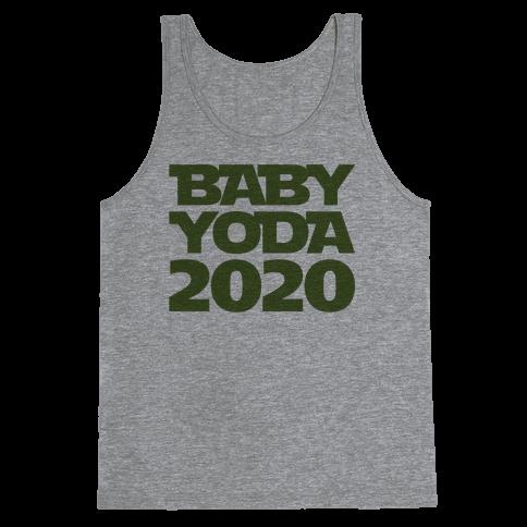Baby Yoda 2020 Parody Tank Top