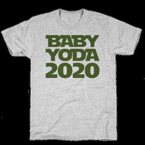 Baby Yoda 2020 Parody Mens/Unisex T-Shirt