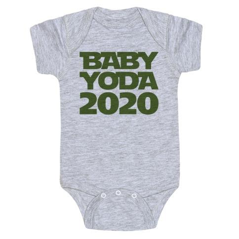 Baby Yoda 2020 Parody Baby One-Piece
