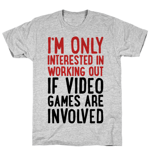 Video Game Workout Mens T-Shirt