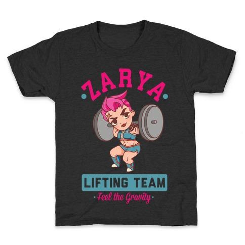 Zarya Lifting Team Kids T-Shirt