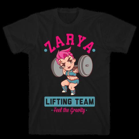 Zarya Lifting Team Mens/Unisex T-Shirt