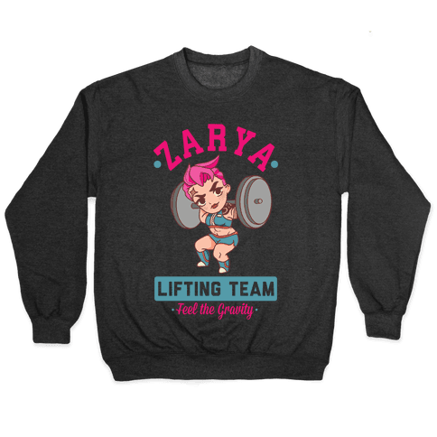 Zarya Lifting Team Pullover