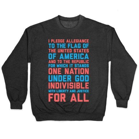 Pledge Of Allegiance Pullover
