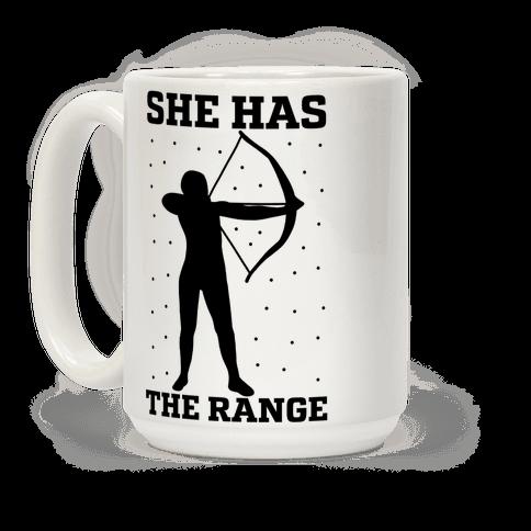 She Has the Range Coffee Mug