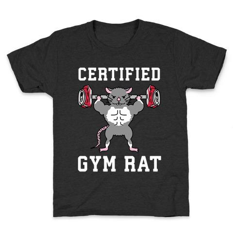 Certified Gym Rat Kids T-Shirt
