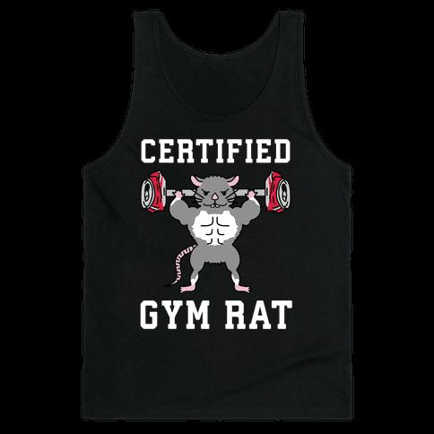 Certified Gym Rat Tank Top