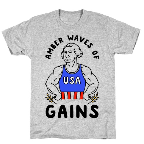 Amber Waves Of Gains T-Shirt