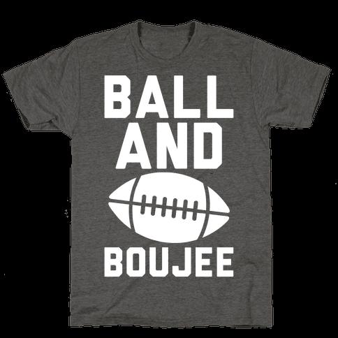 Ball and Boujee Football Parody White Print