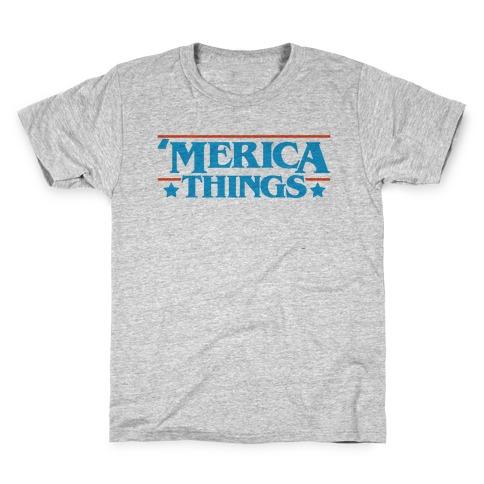 'Merica Things Parody Kids T-Shirt