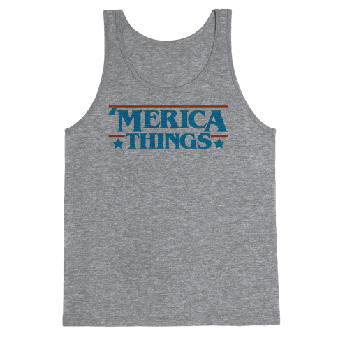 'Merica Things Parody Tank Top