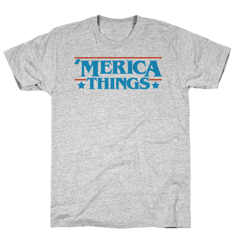 'Merica Things Parody Mens/Unisex T-Shirt