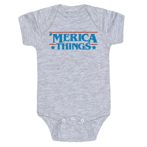 'Merica Things Parody Baby Onesy