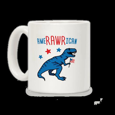 AmeRAWRican Dino Coffee Mug
