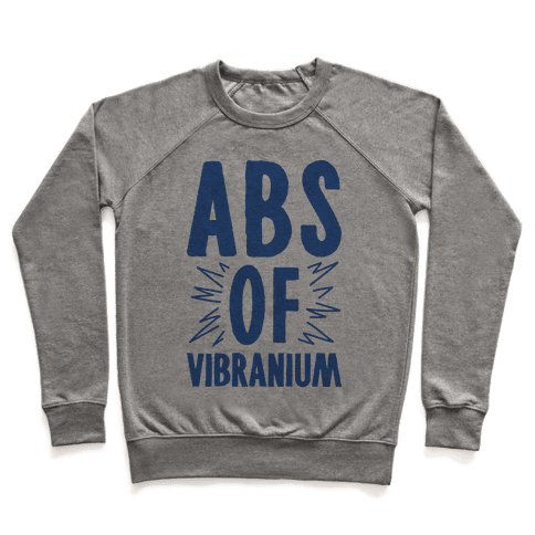 Abs Of Vibranium Parody Pullover