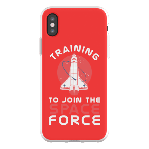 Training to Join the Space Force Phone Flexi-Case
