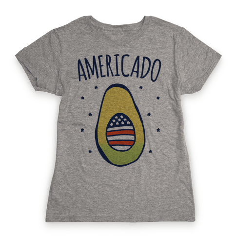 Americado Parody Womens T-Shirt