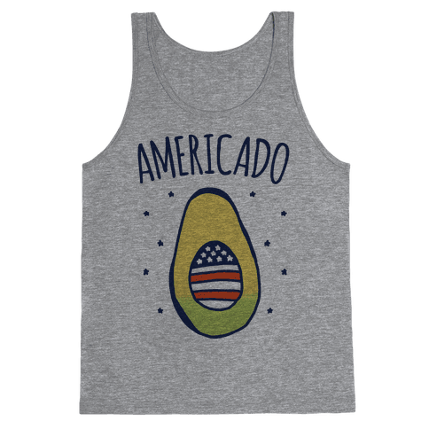 Americado Parody Tank Top