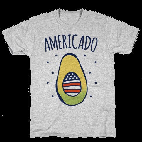 Americado Parody Mens/Unisex T-Shirt