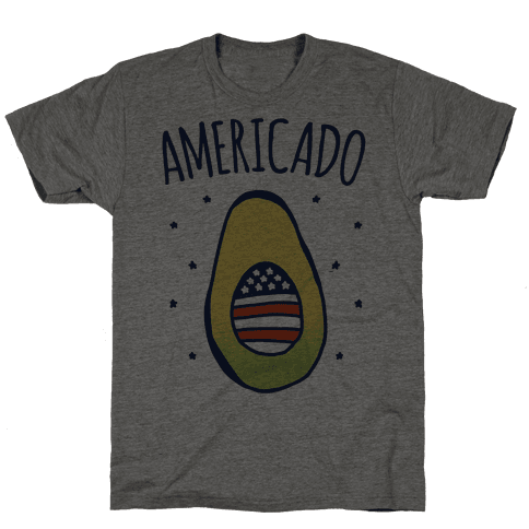 Americado Parody Mens T-Shirt