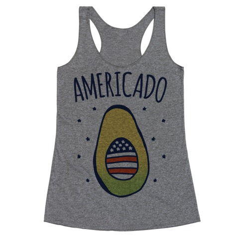 Americado Parody Racerback Tank Top