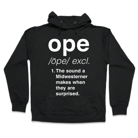 Ope Definition Hooded Sweatshirt