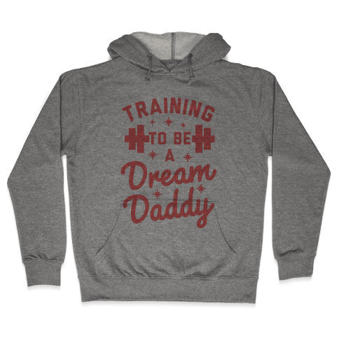 Training to be a Dream Daddy Hooded Sweatshirt