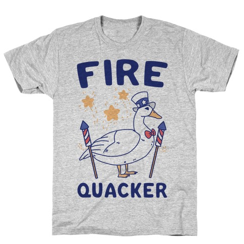 Fire Quacker T-Shirt