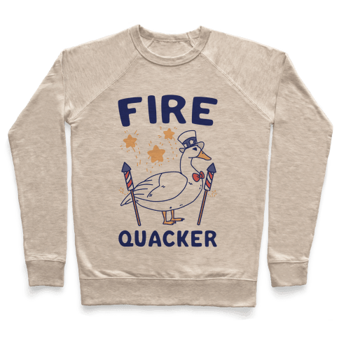 Fire Quacker  Pullover