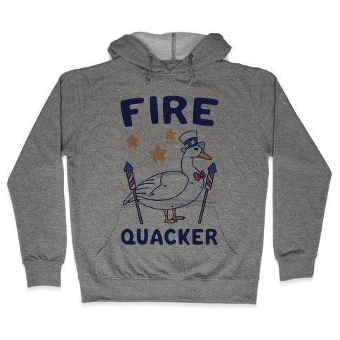 Fire Quacker Hooded Sweatshirt