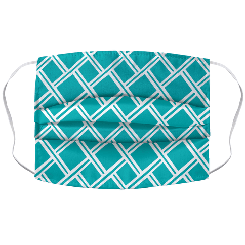 Weaving Pattern Accordion Face Mask