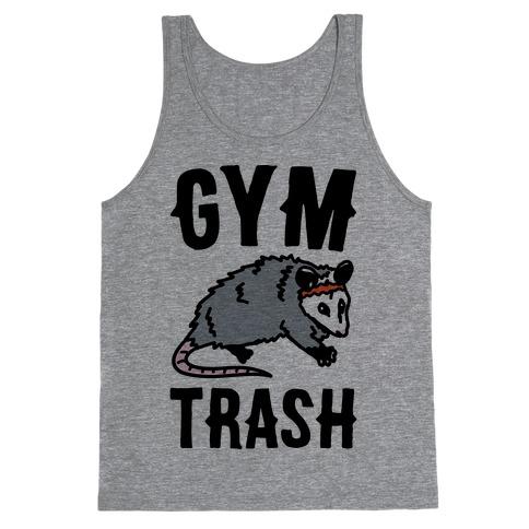 Gym Trash Opossum Tank Top