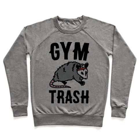 Gym Trash Opossum Pullover