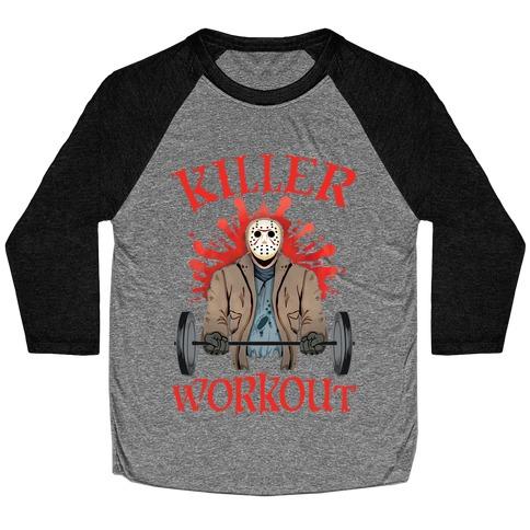 Killer Workout Baseball Tee