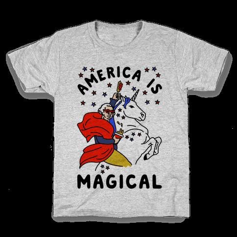 America Is Magical Kids T-Shirt