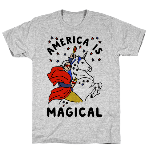 America Is Magical Mens T-Shirt