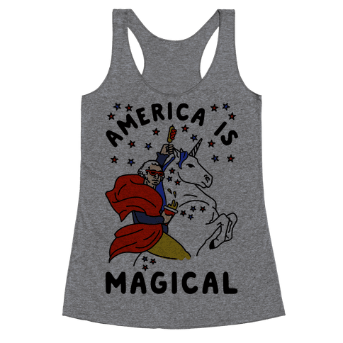 America Is Magical Racerback Tank Top