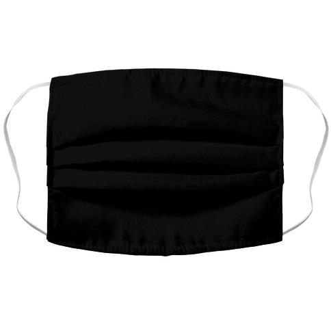Black Accordion Face Mask