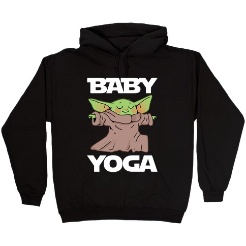 Baby Yoga Hooded Sweatshirt