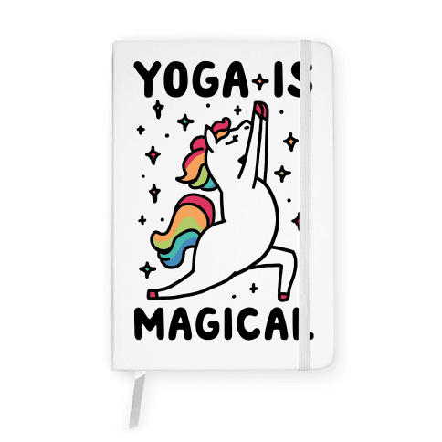 Yoga Is Magical Notebook