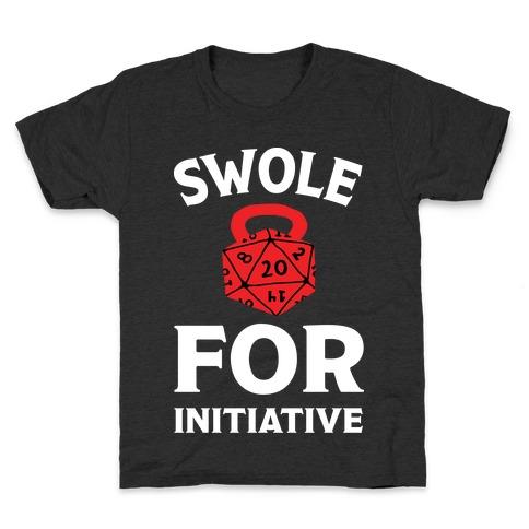 Swole For Initiative D20 Kids T-Shirt