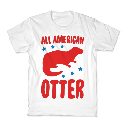 All American Otter Kids T-Shirt