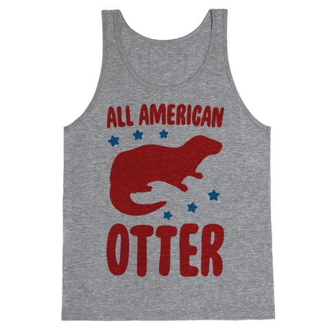 All American Otter Tank Top