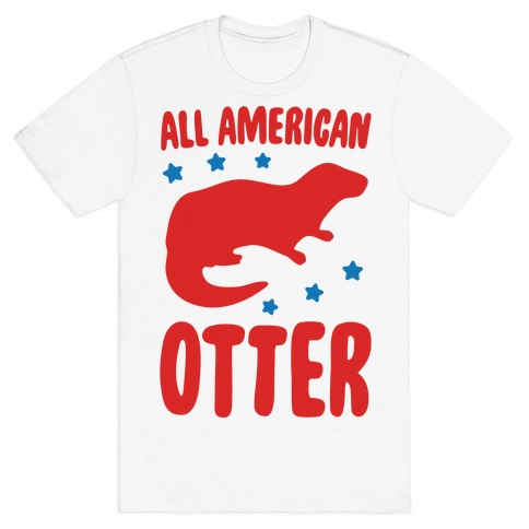 All American Otter T-Shirt