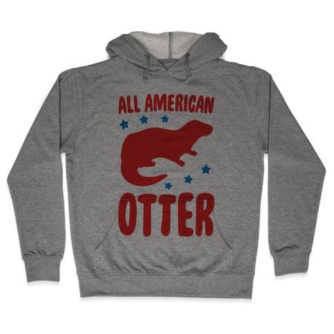 All American Otter Hooded Sweatshirt