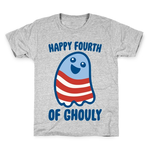 Happy Fourth of Ghouly  Kids T-Shirt