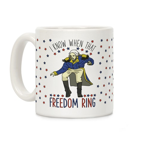 Freedom Ring Coffee Mug