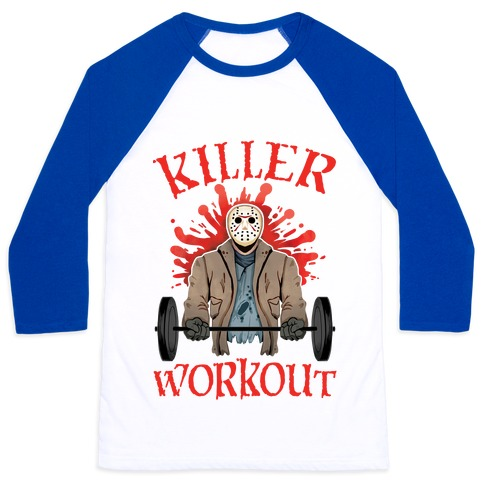 Killer Workout Baseball Tee