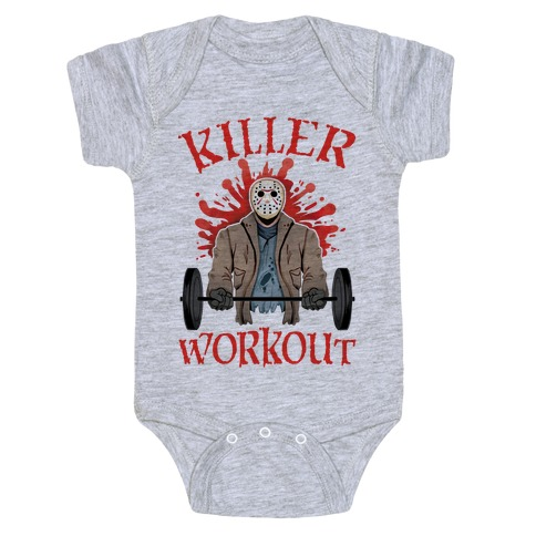 Killer Workout Baby Onesy